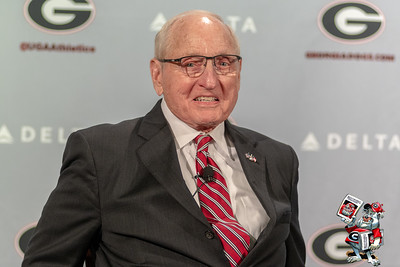 Billy Payne And Vince Dooley Press Conference - April 30, 2018