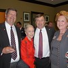 Frank Brown, Lois Wooten, Kirby Smart, Mary Warnell