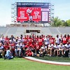 Team Photo - Dawg Alumni Game
