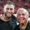 Isaac Nauta with Ric Flair