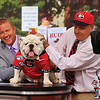 Uga X, Charles Seiler on the ESPN GameDay set