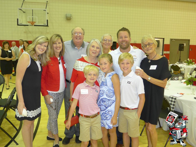 . Allyson Whitaker, Lynn Walker, Sonny Smart, Sharon Smart, Johnny Grimsley, Josh Paske, Nancy Grimsley, Andrew Smart, Julia Smart, Weston Smart