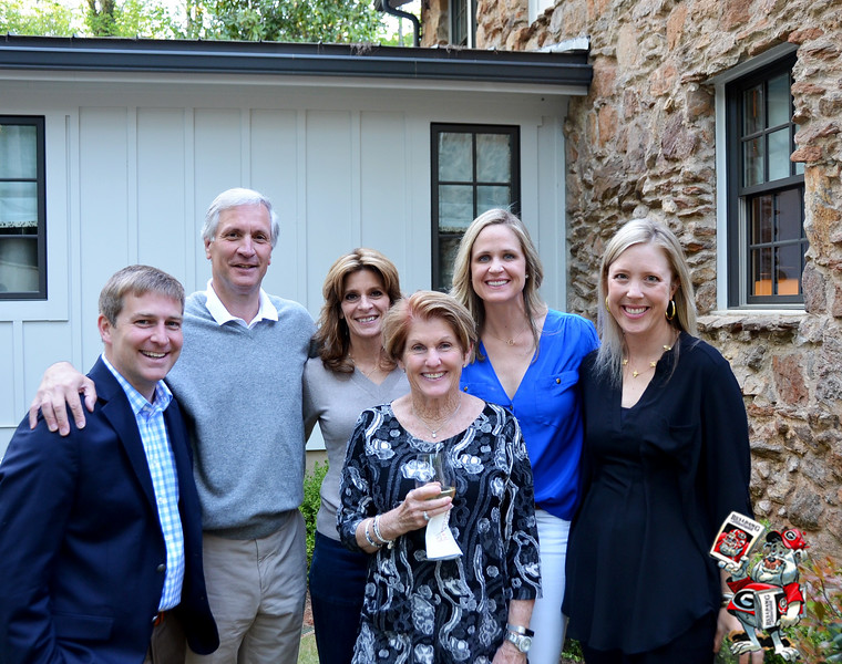 Matt Borman, Bill and Margaret Young, Sheryl McGarity, Mary Beth Smart, Carter Borman