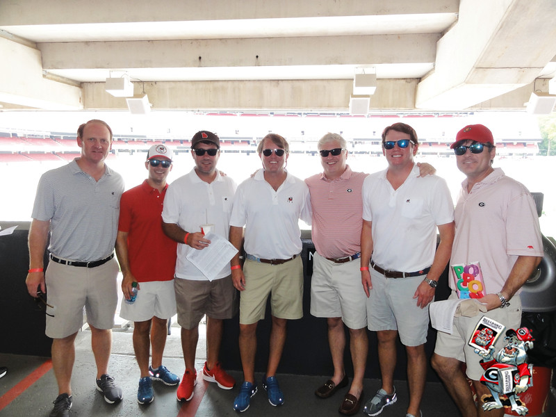 Woody Gayle, Tyler Reams, Henley Hayes, Mitch Masters, Bo Hammock, Paul Pilcher, Andy Hussion