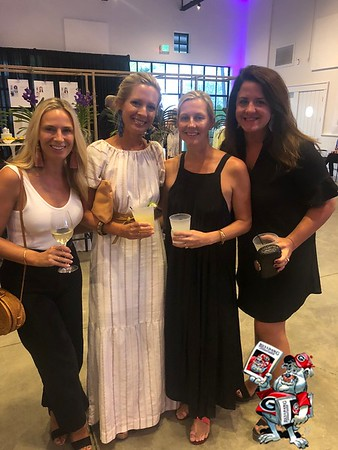 TIBI Spring Show at the Greenhouse on St. Simons Island supporting local cause of Communities in Schools