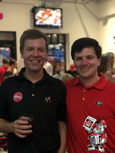 Matthew Massey, David Mize (Columbus Chapter)