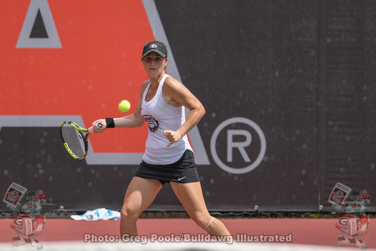 Meg Kowalski | UGA women's tennis team |  NCAA Regional - Georgia vs. Alabama State - May 04, 2019
