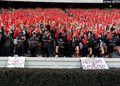 Georgia Bulldog fans