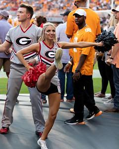 Georgia cheerleader