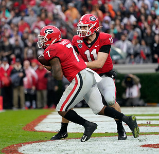 D'Andre Swift, Jake Fromm