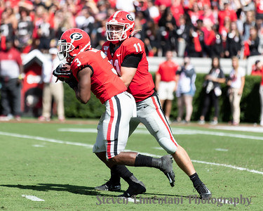 Jake Fromm, Zamir White