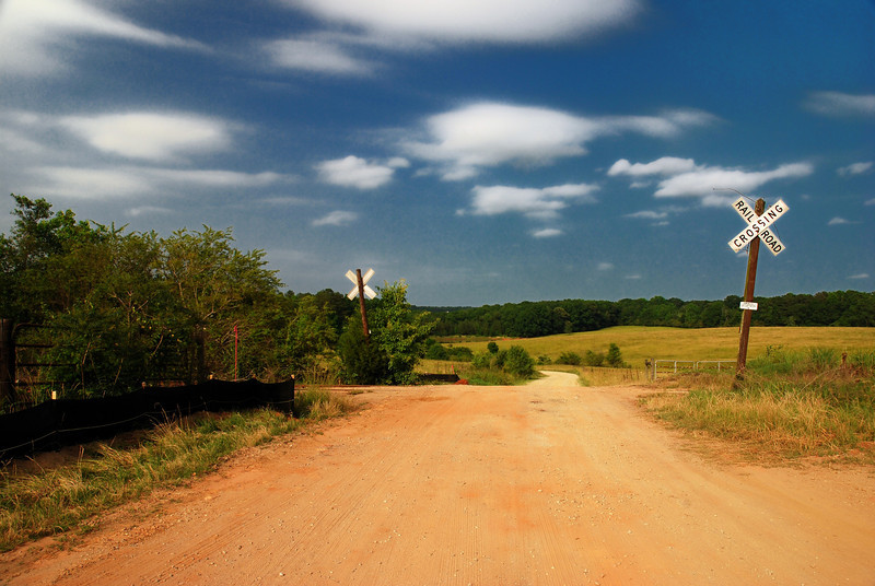 Looking north from near the Red Barn. Clarke County (GA) May 2008