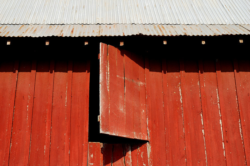 Red Barn detail. Clarke County (GA) May 2008