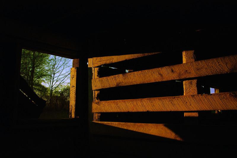 Inside the Red Barn, University of Georgia, Athens, GA (Clarke County). 2008