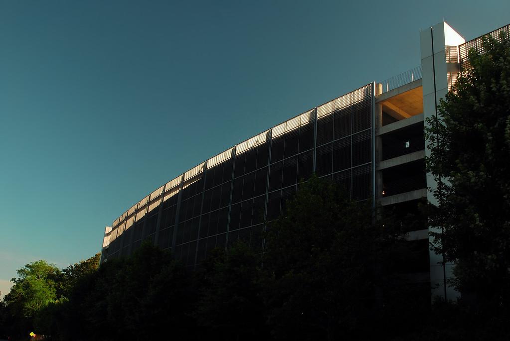 North Campus Parking Deck, UGA, Athens, GA (Clarke County) June 2009
