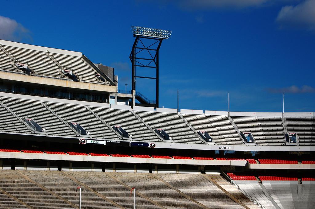 Sanford Stadium, University of Georgia, Athens, GA (Clarke County) 2007