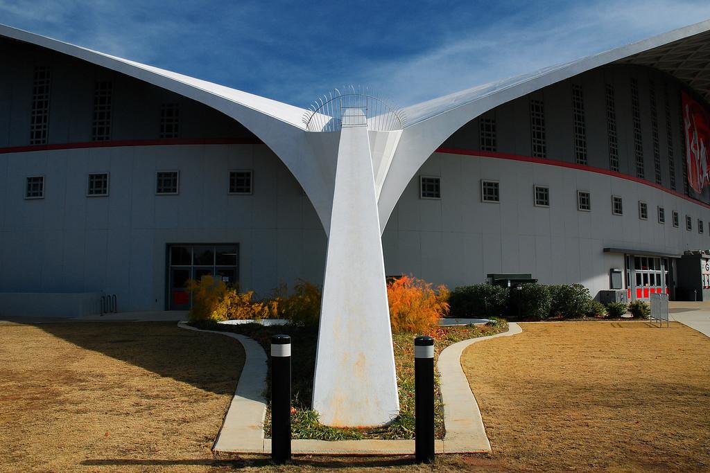 Stegeman Coliseum, Athens, GA (Clarke County) December 2008