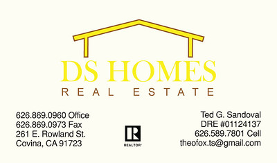 TGS DS HOMES BUSINESS CARD