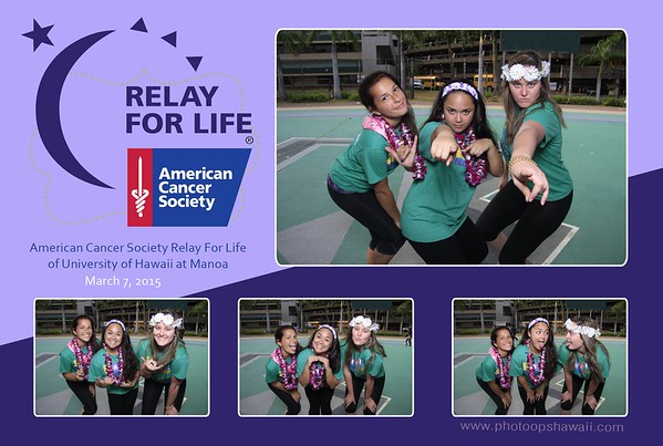 UH Manoa Relay for Life (Fusion Photo Booth)