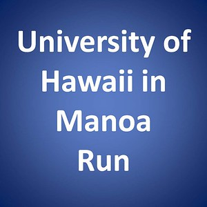 UH Manoa Run