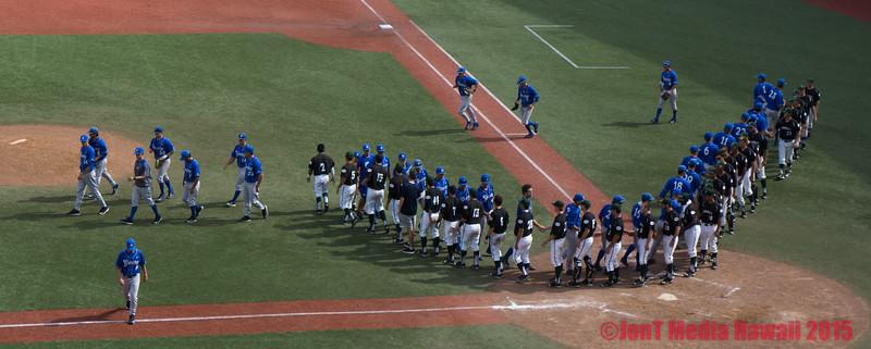 UH Baseball - Les Murakami Stadium 4-26-2015