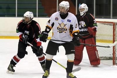 В первенстве Юниорской хоккейной лиги команда Трактор разгромила Астану из столицы Казахстана со счетом 12:2