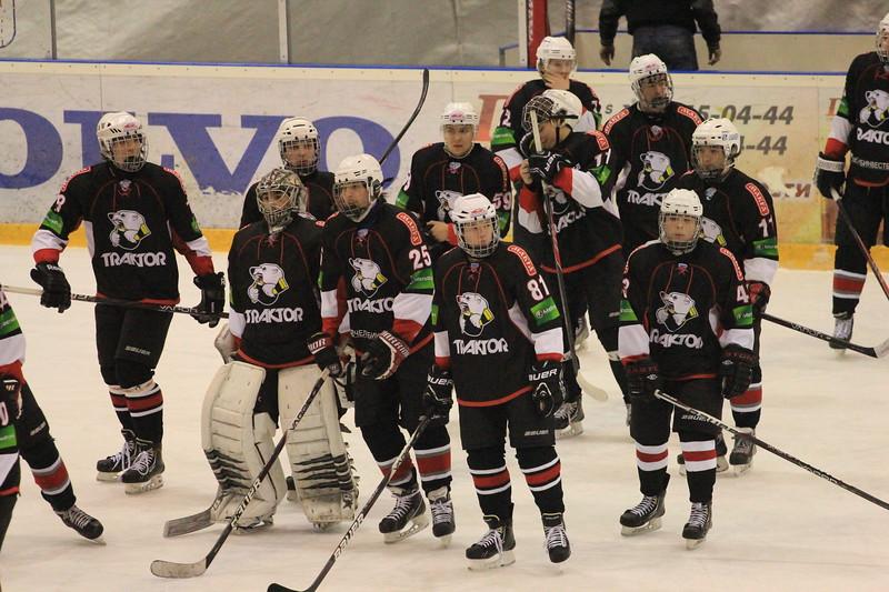 Челябинский Трактор провел заключительный матч на групповом этапе первенства Юниорской хоккейной лиги