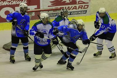Челябинская команда Мечел разгромила нефтекамский Торос в первенстве Юниорской хоккейной лиги
