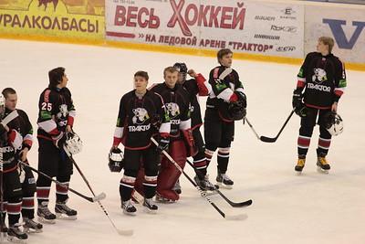 Трактор (Челябинск) - Нефтяник (Сургут) 6:5. 30 ноября 2013