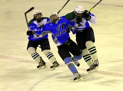 Челябинская команда Мечел уступила нефтекамскому Торосу в матче первенства Юниорско хоккейной лиги
