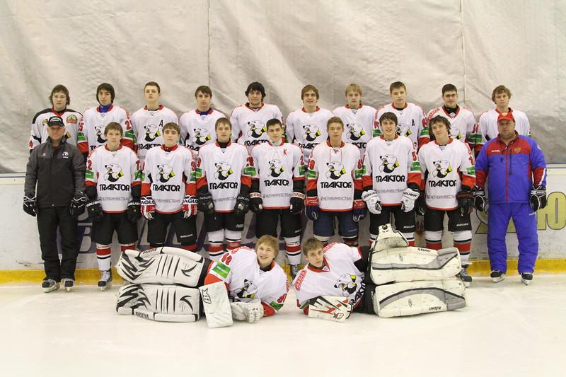 Тренеры команды Трактор Юниорской хоккейной лиги Станислав Шадрин и Александр Рожков назвали расширенный состав команды, которая примет участие в финальных соревнованиях в Тольятти.