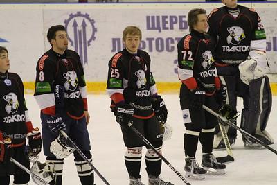 Трактор (Челябинск) - Спутник (Нижний Тагил) 8:0 . 24 января 2016