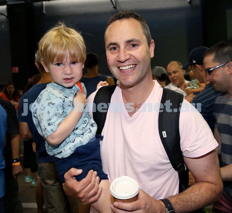 UIA Young Families Israeli Summer Days at The Venue. Josh and Gavin Kawalsky. Pic Noel Kessel