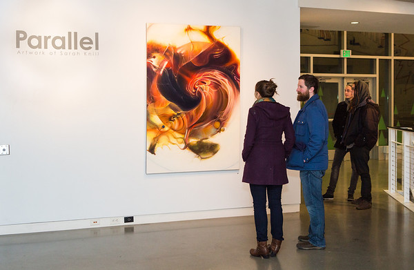Parellel: Artwork of Sarah Knill Opening Reception.