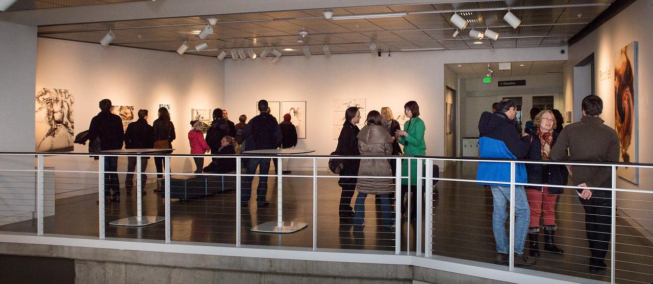 Parellel: Artwork of Sarah Knill Opening Reception.