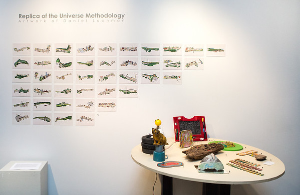 Replica of the Universe Methodology: Artwork of Daniel Luchman Opening Reception.