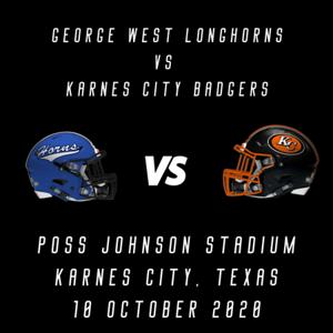 George West vs Karnes City Badgers