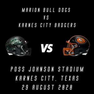 Karnes City VS MARION