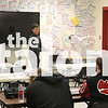 Debate practice  at Argyle High School in Argyle, Texas, on November, 28, 2018. (Lauren Metcalf / The Talon News)