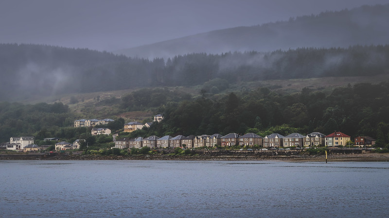 Views of Dunoon in the early morning