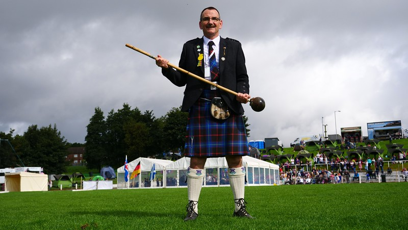 A road trip to the cowal highland gathering for the biggest highland alan pettigrew at the cowal games solutioingenieria Choice Image