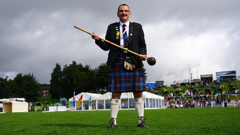 Alan Pettigrew at the Cowal Games