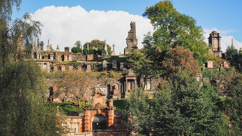 Visiting the Glasgow Necropolis
