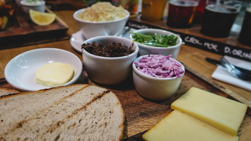 Lunch at Drygate Brewing in Glasgow
