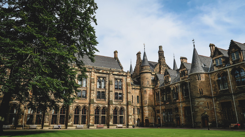 The University of Glasgow is a must visit on your Glasgow itinerary