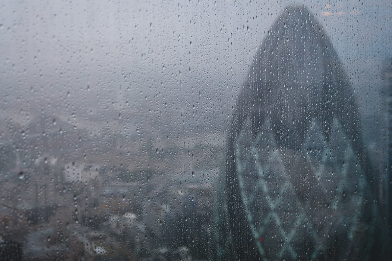 Views from Duck & Waffle London