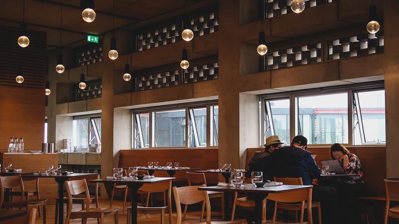 Restaurant at Blavatnik Building Tate Modern