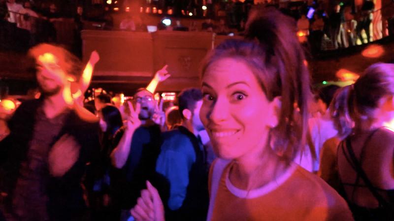 Dancing at KOKO London