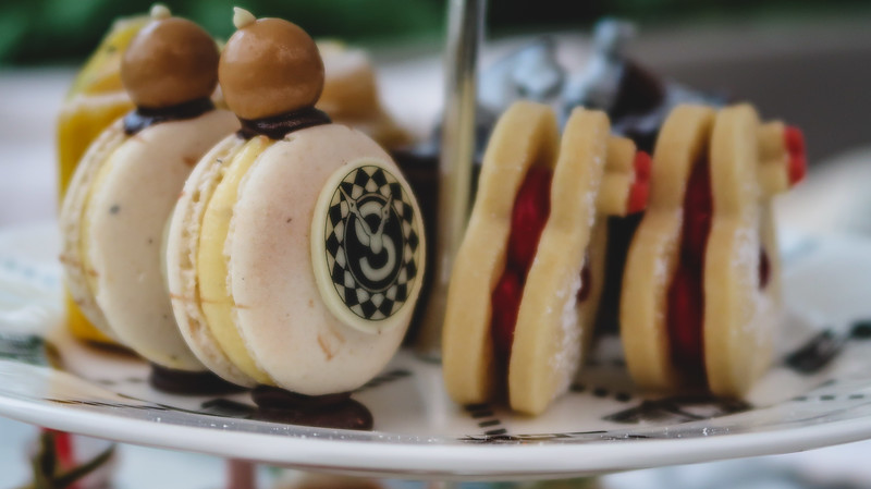 Treats at Mad Hatter's Afternoon Tea
