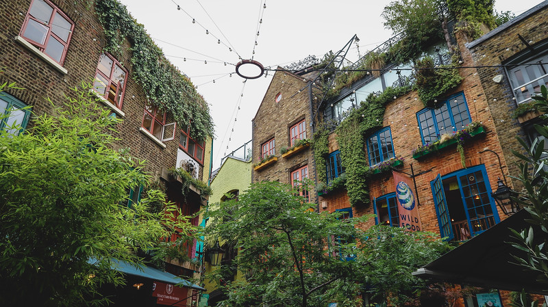 Neal's Yard in Seven Dials